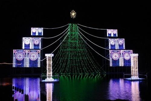 木曽三川公園イルミネーション2015期間や時間、駐車場や花火情報