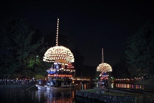 尾張津島天王祭2016開催期間や時間、駐車場や最寄駅、付近の宿泊場所情報!